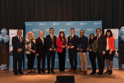 Entrepreneurs awarded for innovations in food, health, environment