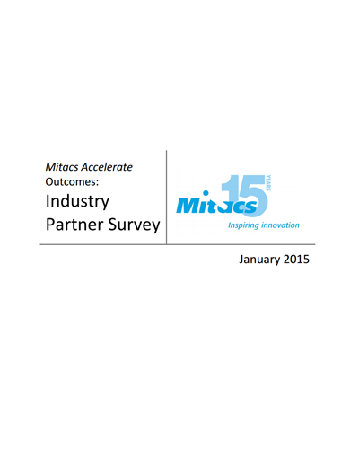 Mitacs Accelerate Industry Survey Report