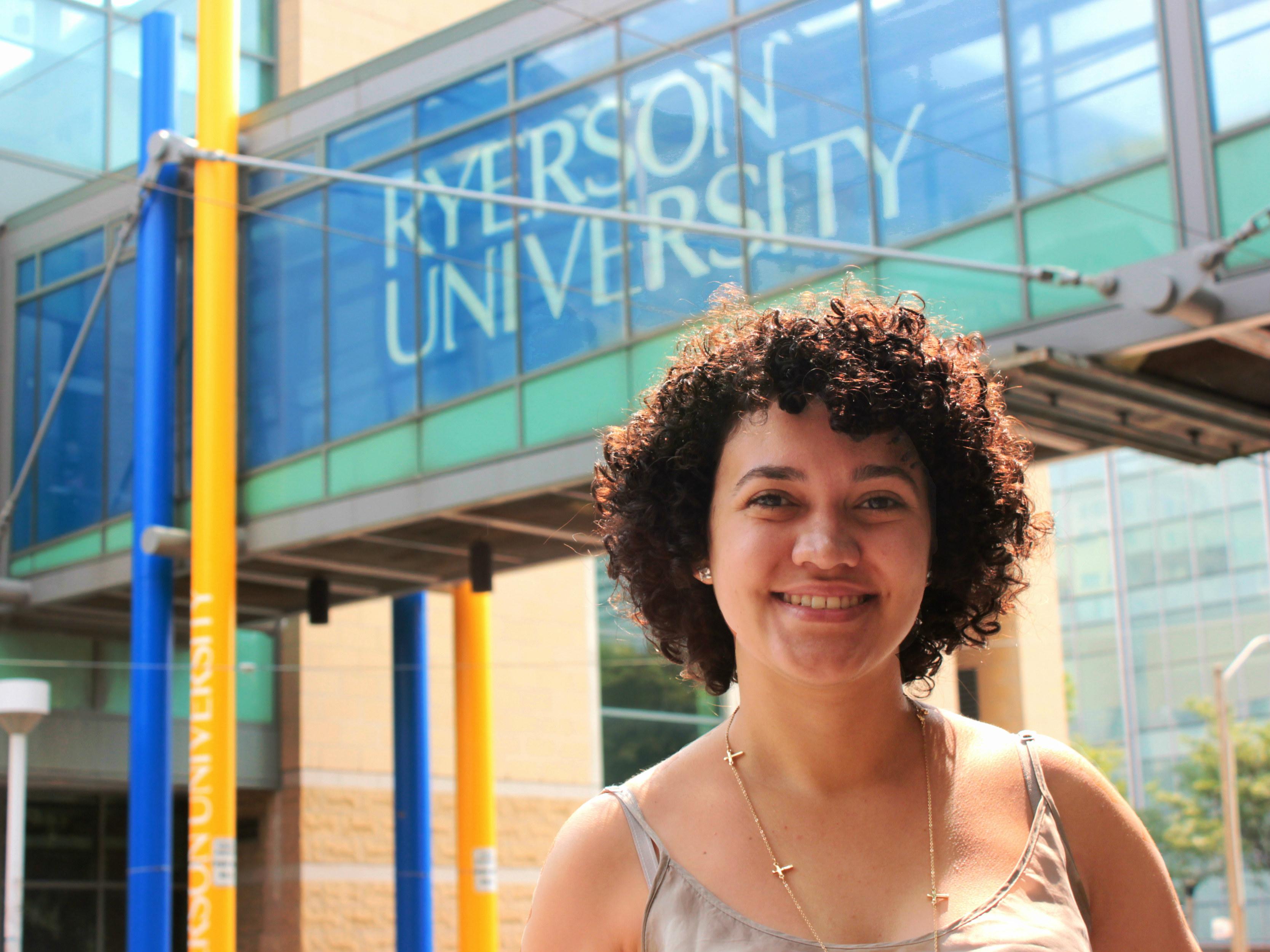 Lara Andrade, Ryerson University